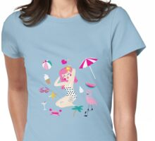 Summer Lovin' Womens Fitted T-Shirt