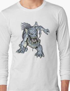 "ZOMBIE FISH Monster ""T-Shirt"" Long Sleeve T-Shirt"