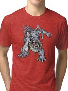 "ZOMBIE FISH Monster ""T-Shirt"" Tri-blend T-Shirt"