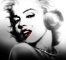 Marilyn Monroe by Cliff Vestergaard