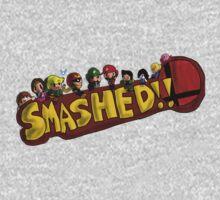 Smashed!! One Piece - Short Sleeve