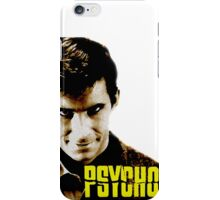 Psycho- Norman Bates iPhone Case/Skin