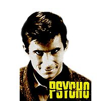 Psycho- Norman Bates Photographic Print