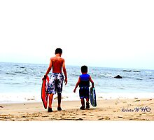 Boogie Boarders Photographic Print