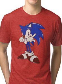 Minimalist Modern Sonic Tri-blend T-Shirt