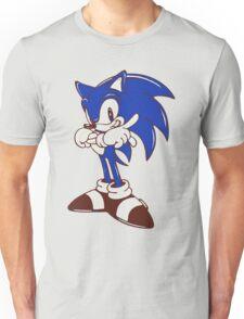 Minimalist Modern Sonic Unisex T-Shirt