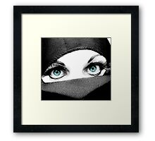Now With Turquoise Framed Print