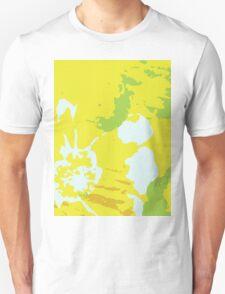 Fresh Yellow Abstract Background Unisex T-Shirt