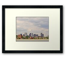Boston at a Distance Framed Print