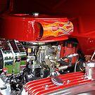 Flaming Motor  by DiamondCactus