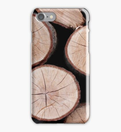 Logs iPhone Case/Skin