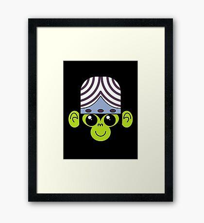 Cute Mojo Jojo Framed Print