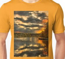 Colorful lake Waban T-Shirt
