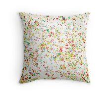 hundreds and thousands Throw Pillow
