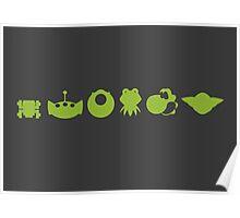 Evolution of Green Poster