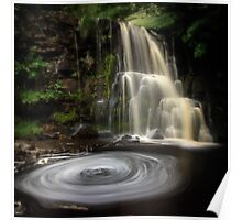 East Gill Falls Poster
