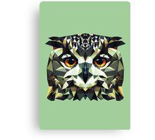 Owl Polygon Canvas Print