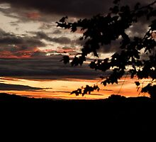 Sunset over the Shire by Phil Rhodes