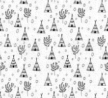 Teepee Pattern by Stacey Muir