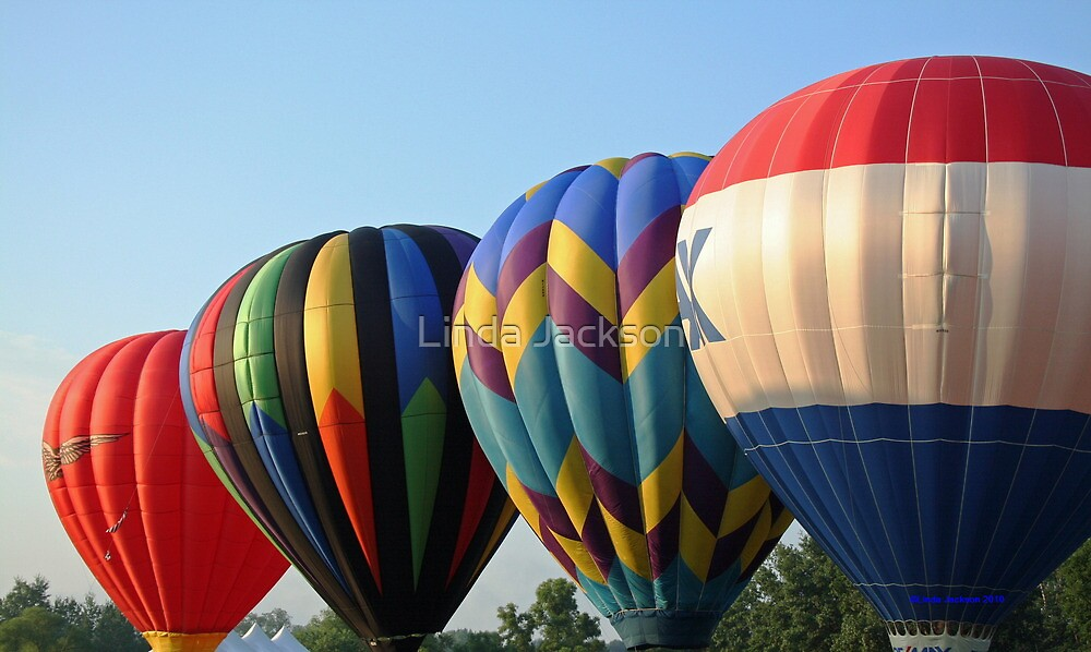 Balloons, Attention!!! by Linda Jackson