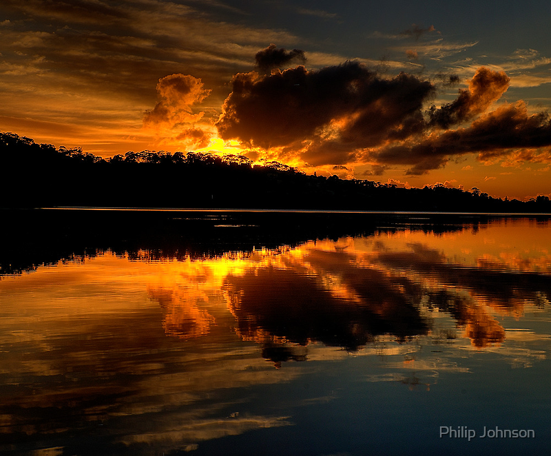 Days Like This - The Awakening (25 Exposure HDR Pano) - Narrabeen Lakes, Sydney - The HDR Experience by Philip Johnson