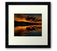 Days Like This - The Awakening (25 Exposure HDR Pano) - Narrabeen Lakes, Sydney - The HDR Experience Framed Print