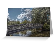 Bridge over the River Coy Greeting Card