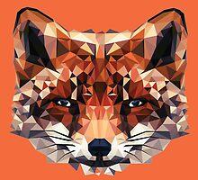 Fox Polygon by miiky