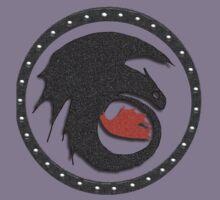 Night Fury Symbol Tee (How To Train Your Dragon Kids Tee