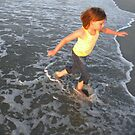 Playing in the Waves by CourtneyMichell