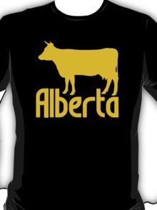 Alberta Cow Calgary Stampede Canada T-Shirt