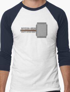 Myeuh-Muh Men's Baseball ¾ T-Shirt