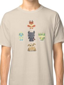 Baby Dragons How To Train Your Dragon 2 Classic T-Shirt