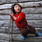 THE CHATAN GIRL, Gangtok by JYOTIRMOY Portfolio Photographer