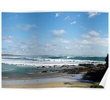 Woolgoolga Beach - NSW Poster