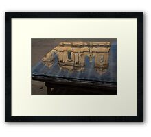 Reflecting on Noto and the Beautiful Sicilian Baroque Style Framed Print
