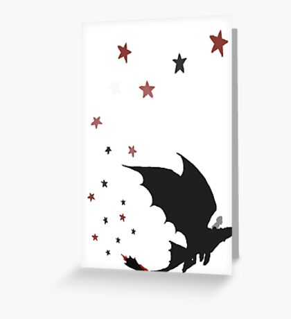 Httyd Forbidden Friendship (No Text) Greeting Card