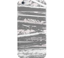Cracking branches (charcoal)  iPhone Case/Skin