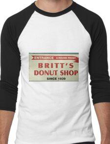 Britts Famous Doughnuts Men's Baseball ¾ T-Shirt