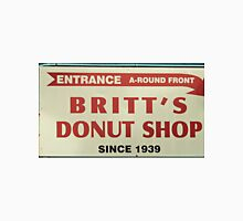 Britts Famous Doughnuts Unisex T-Shirt