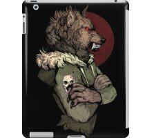 Wolf Rising Brown iPad Case/Skin