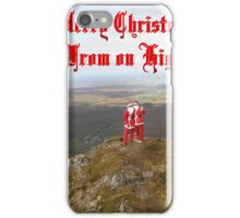 Santa  From on High iPhone Case/Skin