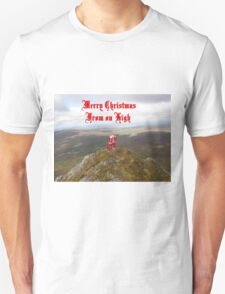 Santa  From on High T-Shirt
