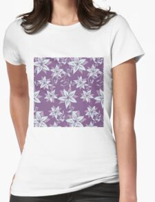Graphic Art Floral 04 Womens Fitted T-Shirt