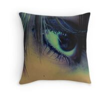 i just want catch your eye. Throw Pillow