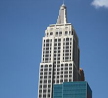 New York New York Empire State Building by G G