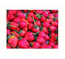 Love Red Berry Art Print
