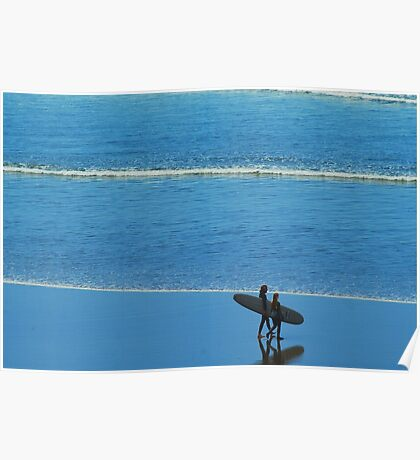Going Surfing Poster