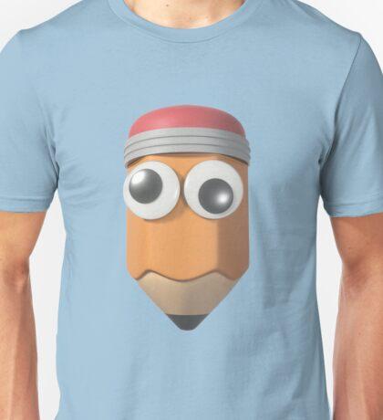 Googly-Eyed Pencil Unisex T-Shirt