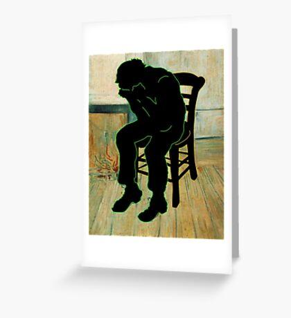 Vincent Van Gogh Modernized Greeting Card